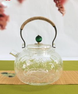 ấm đun nước thủy tinh