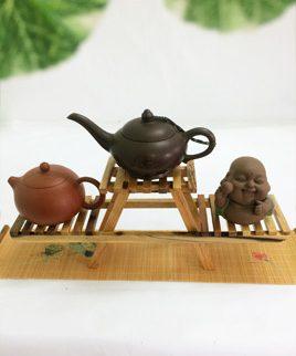 kệ trà gỗ