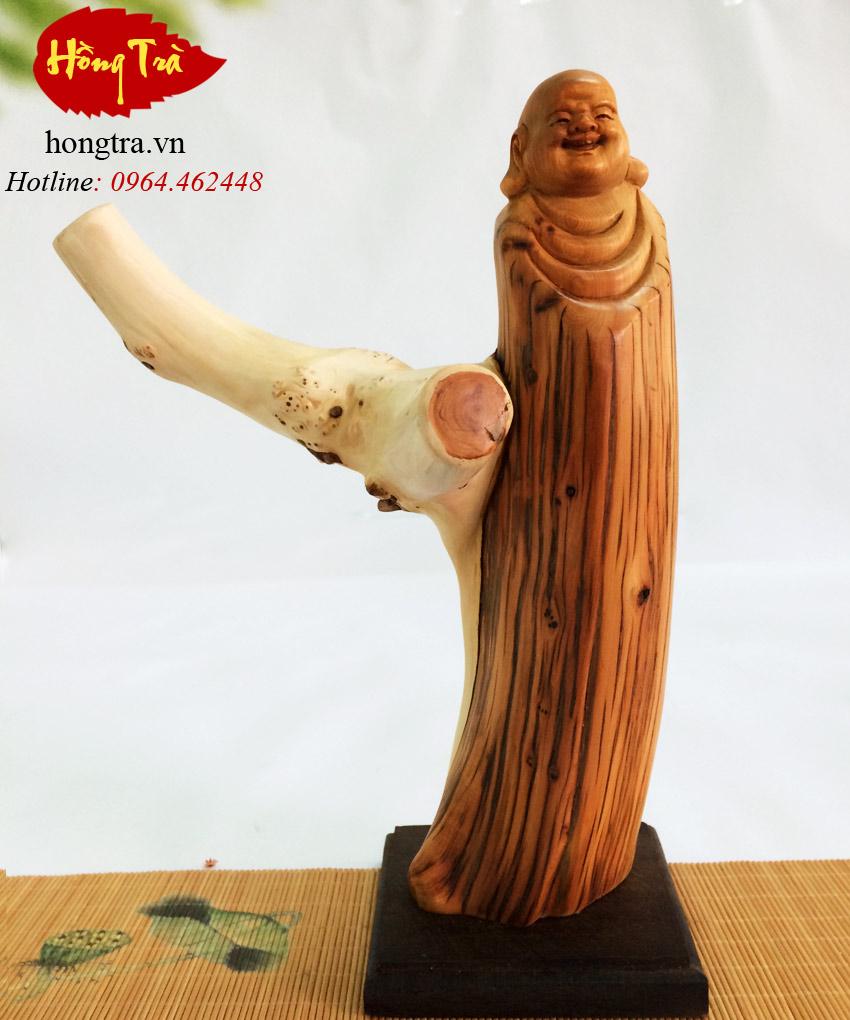 Tượng gỗ Phật Di Lặc TGPDL09