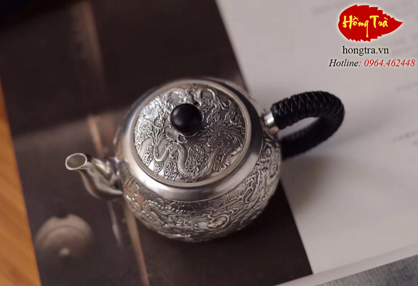 bình pha trà bằng bạc ABPT08
