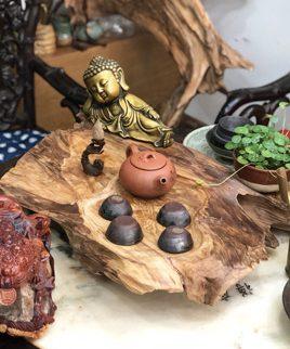 bàn trà gỗ