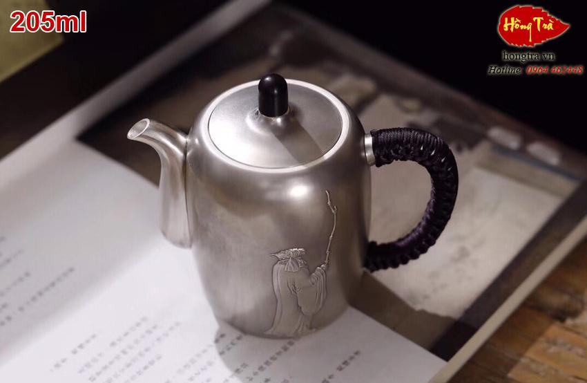 Ấm bạc pha trà cao cấp AMBAC19