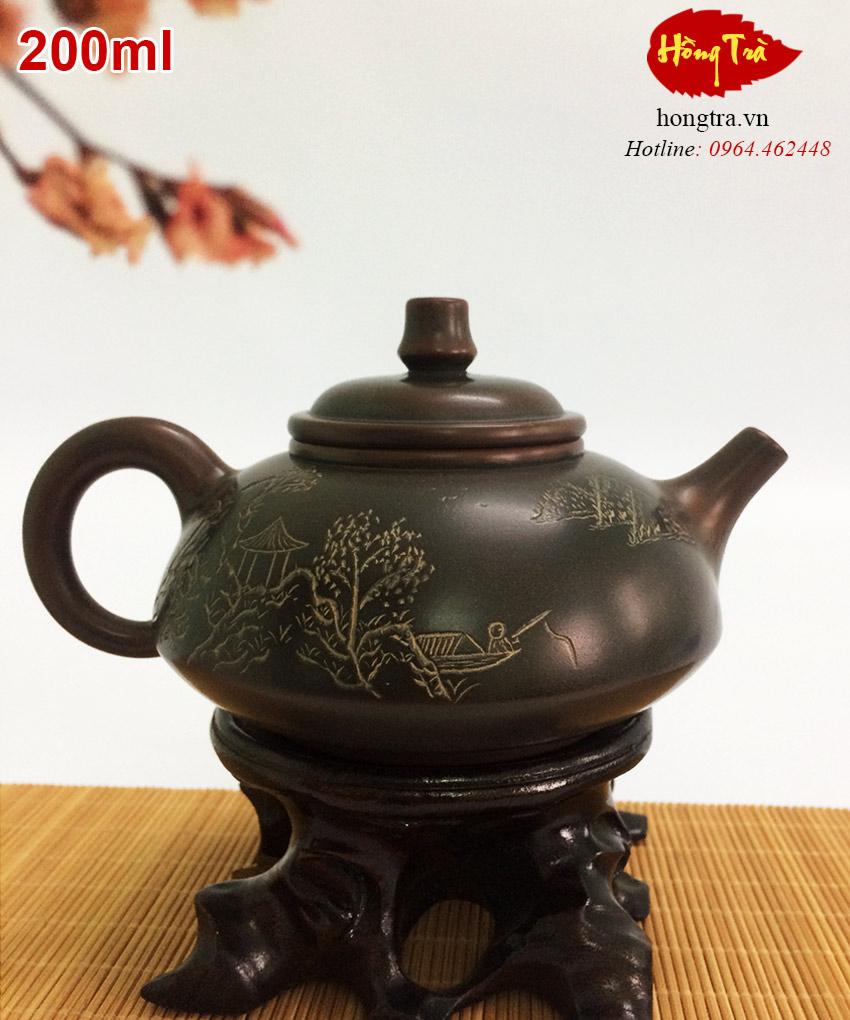 Ấm pha trà hỏa biến ATS581